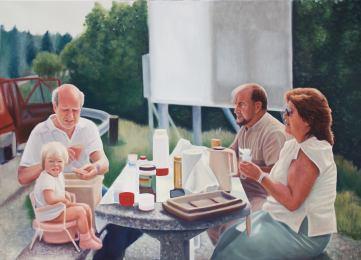 Sitta l. Oil on canvas, 90 x 130 cm.